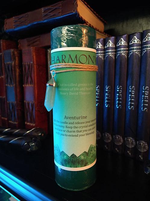 Crystal Energy Pendant Candle HARMONY