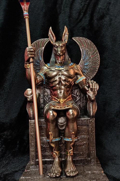 Anubis on a Throne