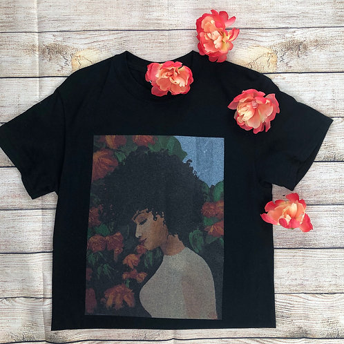 Whimsical Black Girl T-Shirt