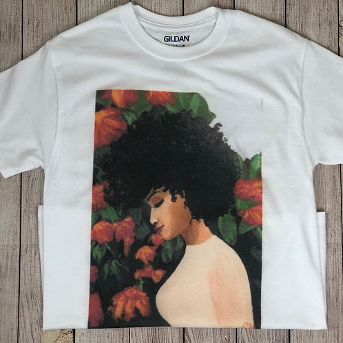 Whimsical Black Girl Tee