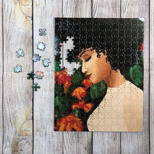 Whimsical Black Girl Puzzle