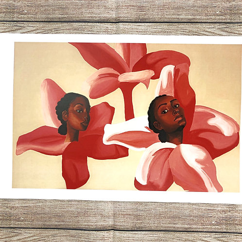 Blooming Ladies Print