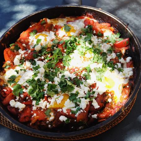 A healthy, filling vegetarian recipe - Shakshuka