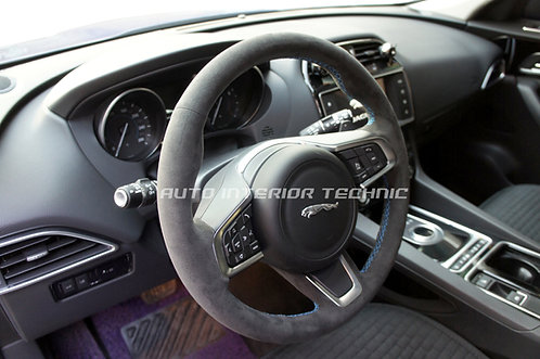 Jaguar Steering Wheel Wrap