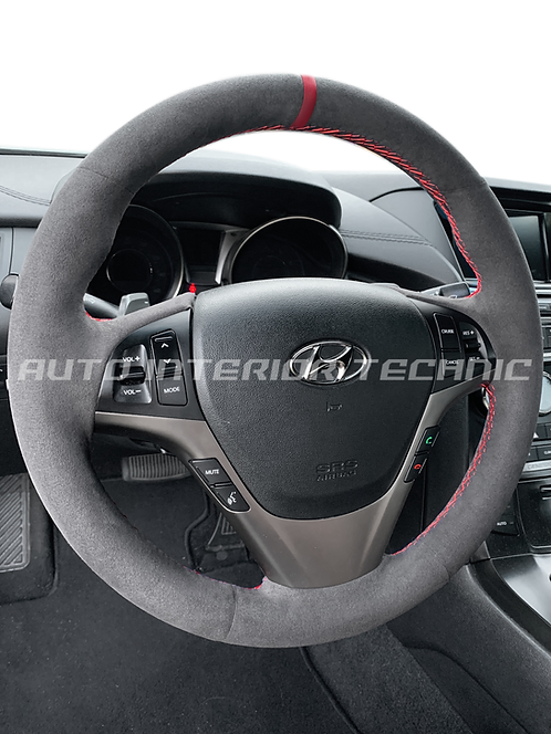 Genesis Coupe Steering Wheel Wrap