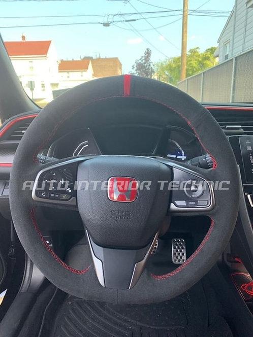 FK8 TypeR Steering Wheel Wrap