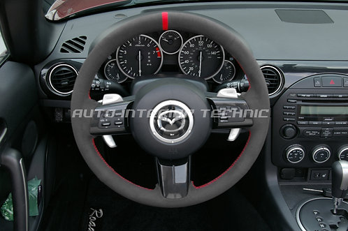NC Miata Steering Wheel Wrap