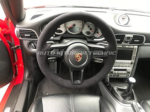 Porsche Alcantara Steering Wheel Wrap