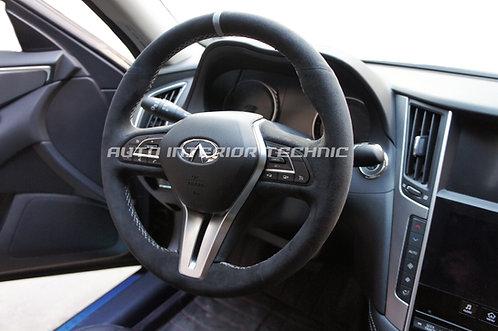 18+ Q50 Steering Wheel Wrap