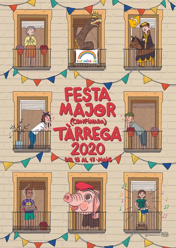 Cartell Festa Major de Tàrrega 2020