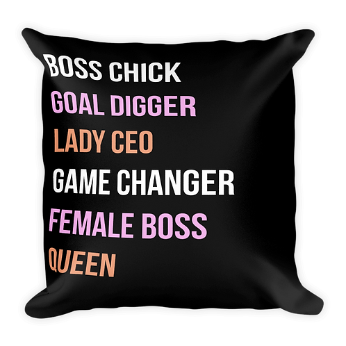 Girl Boss - Pillow