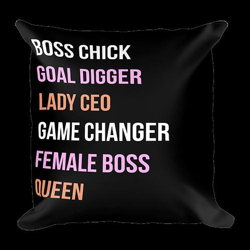 Girl Boss - Pillow