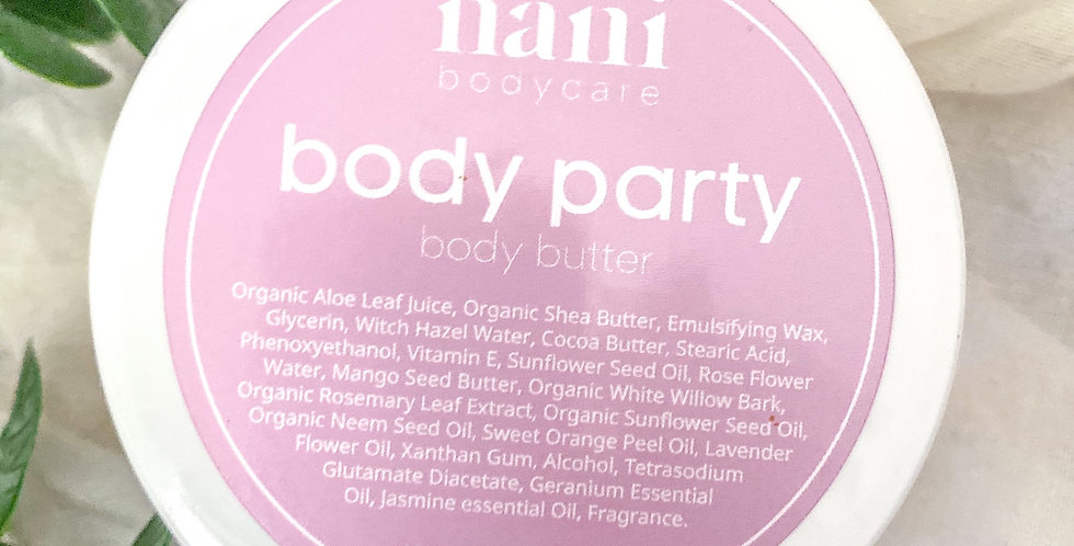 body party - body butter