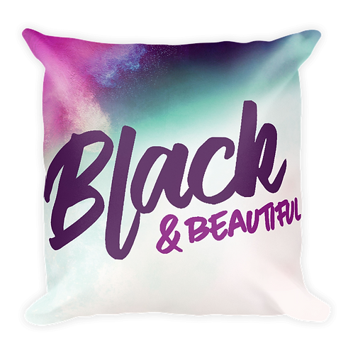 Black & Beautiful - Pillow