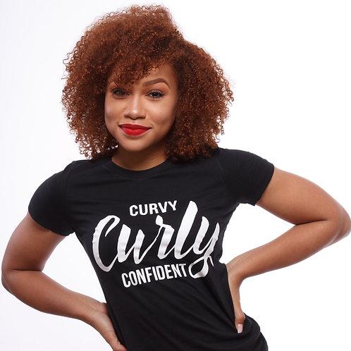 Curvy, Curly, Confident