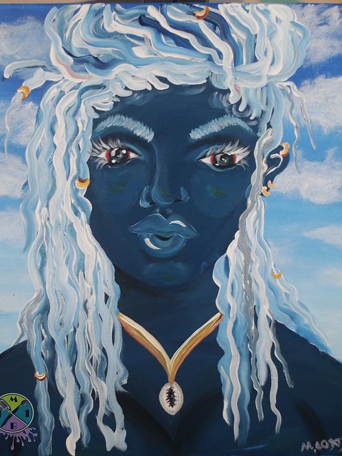 """""""Blue Black Woman"""""""