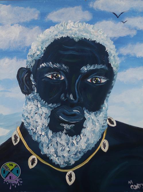 """Blue Black Man"""