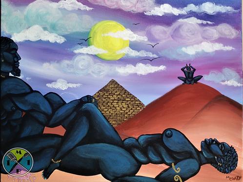 Nubian Blue Black