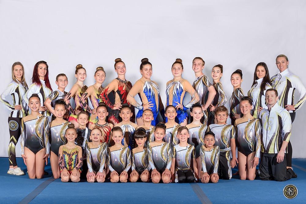 """Acrobatics Gymnastics Competition In Las Vegas"""