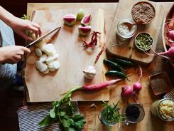 hakken groenten