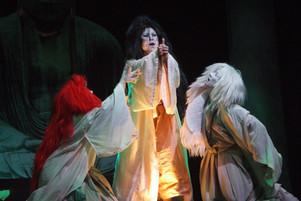 Shogun Macbeth with the Pan Asian Repertory Theater at Julia Miles Theater