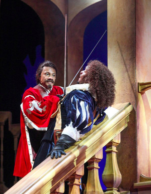 The Three Musketeers at Syracuse Stage