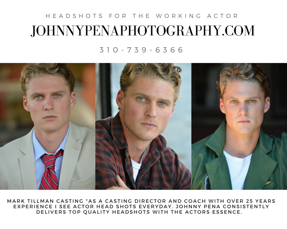 Last chance to book Johnny Pena Photography August Headshot Special. 5 looks for only $250.00. Norma