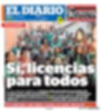 El Diario June 18 Front Cover.jpg