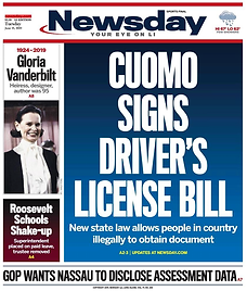 Newsday June 18 Front Cover.png