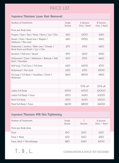 Skin Tightening Prices The Beauty Lounge Upminster Essex