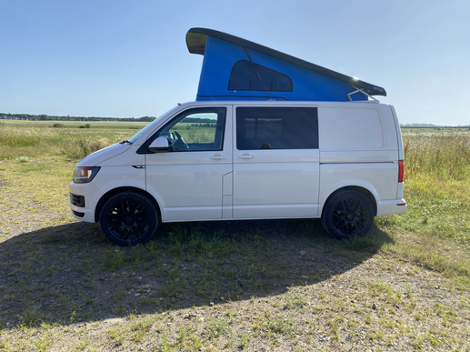 Converted Camper out and about.