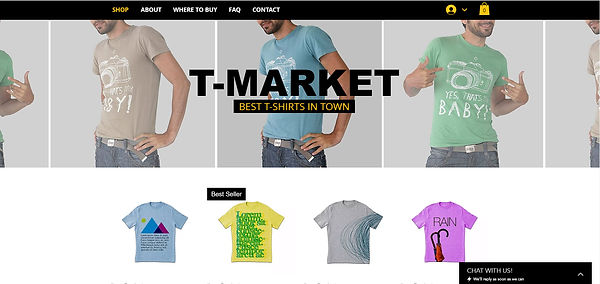 Example of Websites by Jane Affordable, low cost online shop