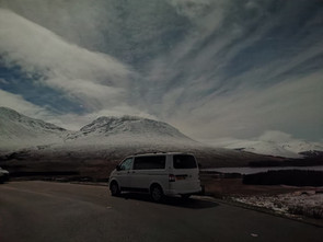 WINTER TRIP IN OUR CAMPER
