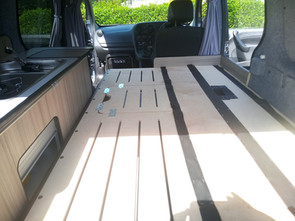 CAMPER CONVERSION READY FOR THE MATRESS