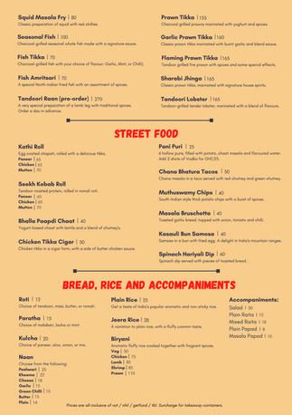 Street Food & Bread, Rice, Accompaniments