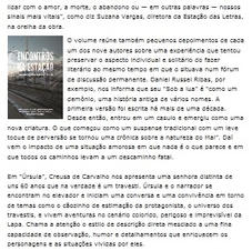 29/12/2012: Prosa e Verso - Jornal O Globo