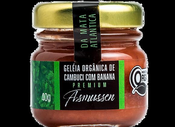 6 x Geléia Orgânica de Cambuci com Banana   40g