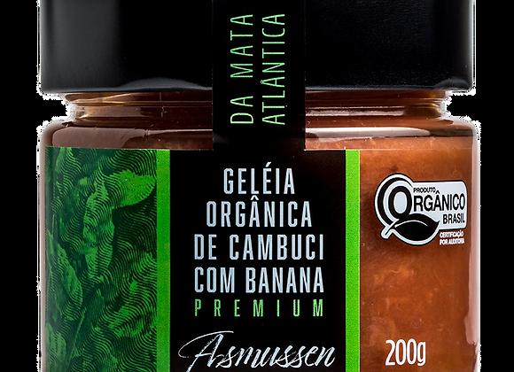 6 x Geléia Orgânica de Cambuci com Banana  200g
