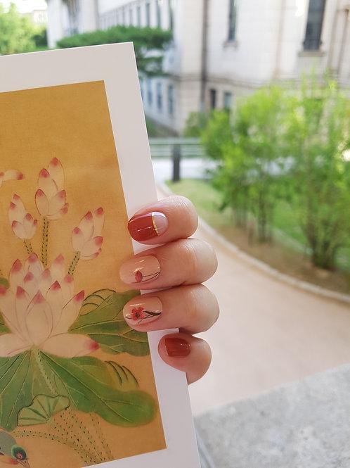 Gel nail strips n.4507 - Poesia