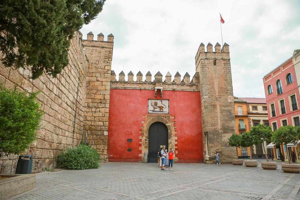 Sevilla, España, Seville, Spain, study abroad, Rose Wine Photography, Alcázar, Alcazar, castles, Europe, mudéjar, mudejar
