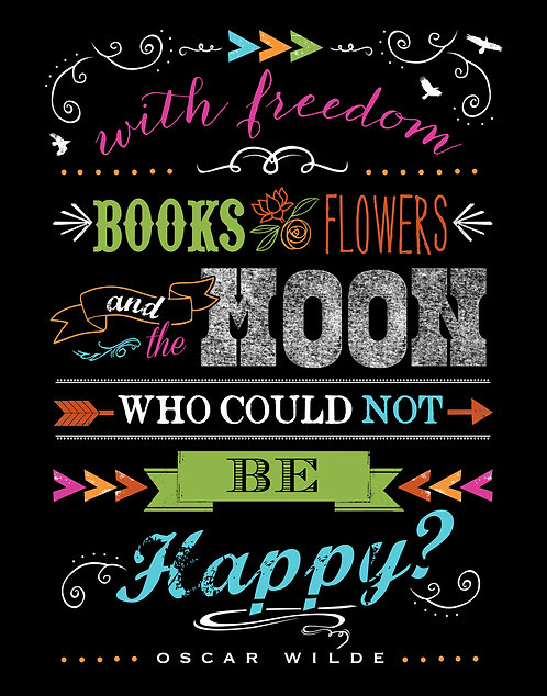 Who Could Not Be Happy - Oscar Wilde Quote