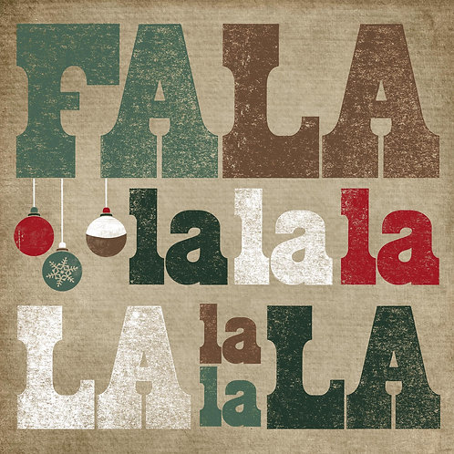 Falalalala -Traditional Green/Red
