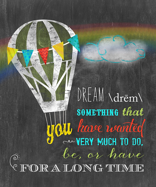 Dream Definition - Hot Air Balloon