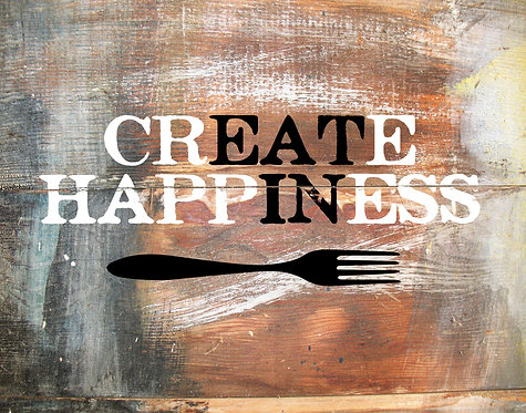 """Create Happiness """"Eat In"""" - For Those Who Enjoy a"""