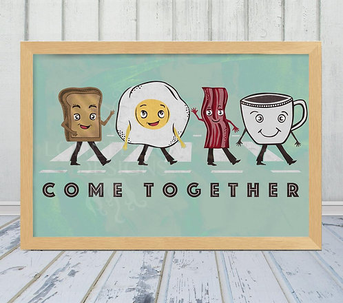 Come Together - Breakfast play on Abbey Road