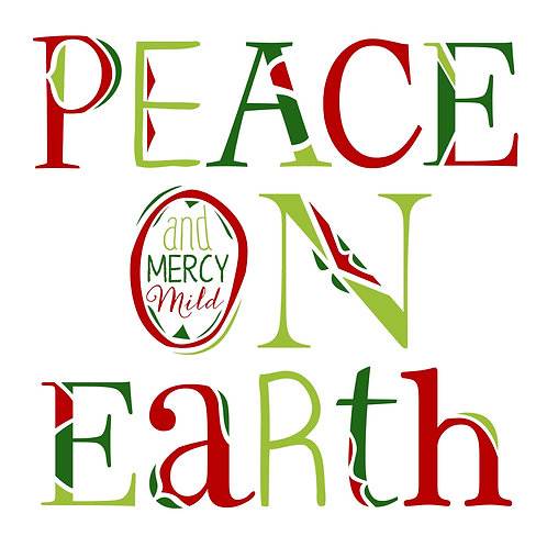 Peace On Earth - White, Red, Greens