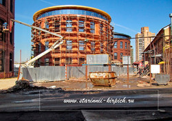реставрация кирпичного здания