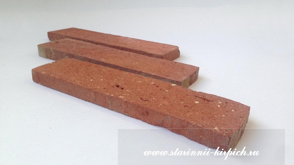 """Плитка """"ложок """" очищенная полностью (красная)"""