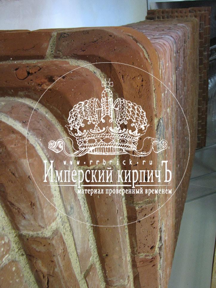 камин облицованный кирпичем девятнадцатого века