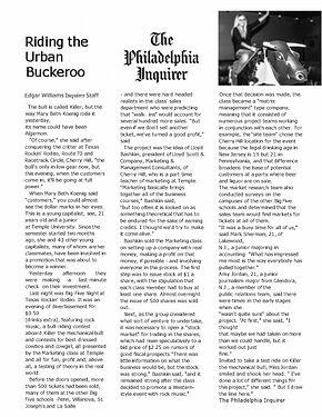 temple university class starts a business philadelphia inquirer article lloyd bashkin